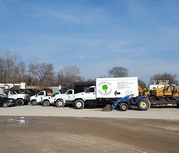 Commercial Snow and Tree Trucks, Equipment